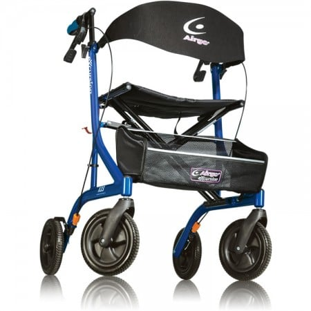 AirGo Excursion Tall Rollator X23 - Pacific Blue