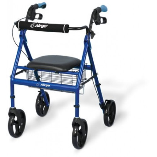 AirGo Basic Rollator - Pacific Blue