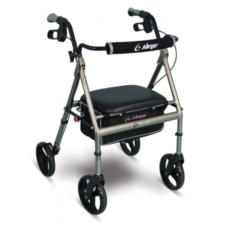 AirGo Adventure Eight Rollator - Titanium