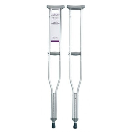 AirGo Aluminum Crutches with Push Button Adjust