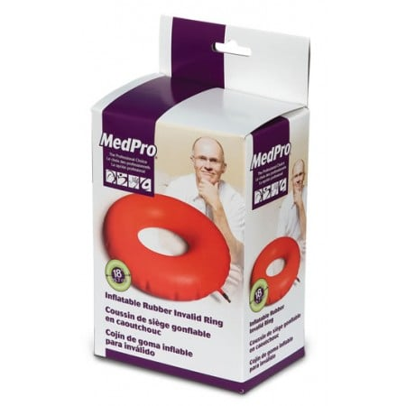 MedPro Inflatable Rubber Invalid Ring