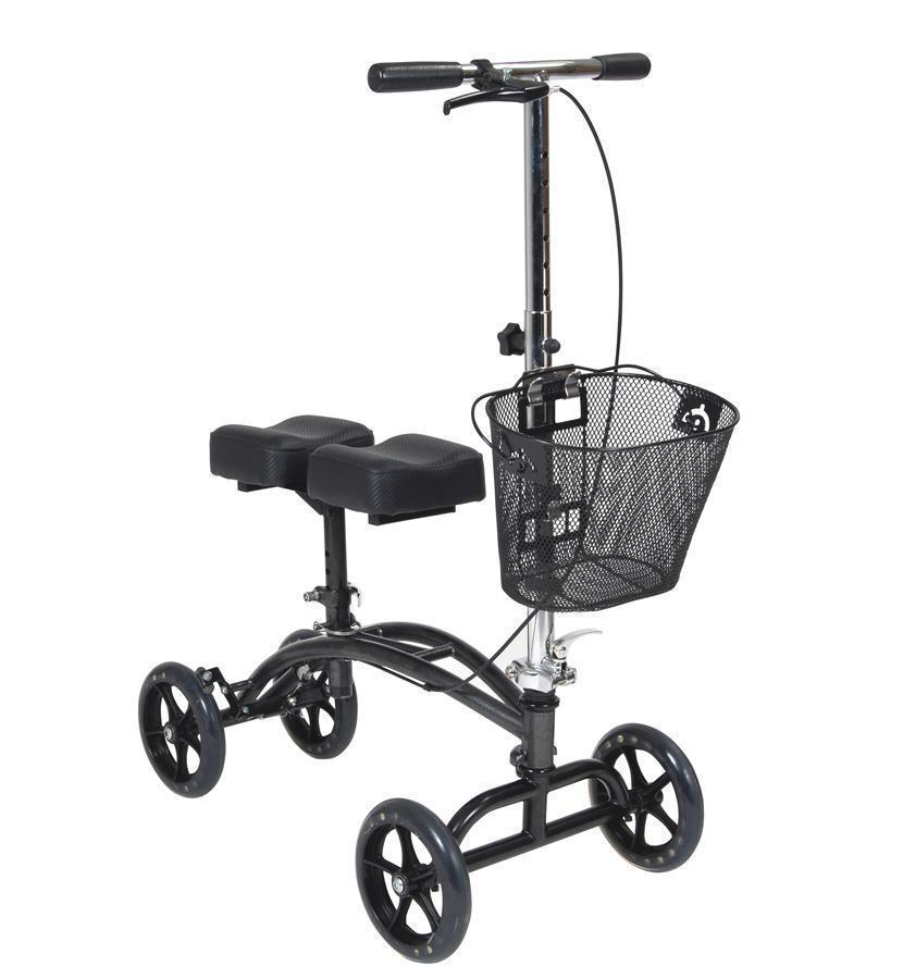 Aluminium Knee Walker with Handbrakes